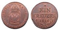Ferenc 1792-1835 krajcár 1816