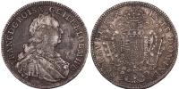 Lotharingiai Ferenc -1765 1/2 tallér 1753 Gyulafehérvár UNIKUM!