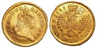 Lotharingiai Ferenc 1/4 dukát 1755 NB R!