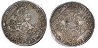 I.Lipót 1657-1705 1/4 tallér 1703 NB RR!
