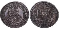 I.Lipót 1657-1705 tallér 1702 NB R!