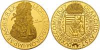 I.Lipót 1657-1705 érem 4 dukát súlyban up.