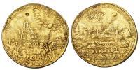 Buda visszafoglalás érem 10 dukát súlyban 1686 RR!