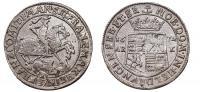 Mansfeld- F.Maximilian és H.Franz 1669-1692 1/3 tallér 1672