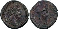 Marcus Aurelius 161-180 sestertius