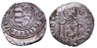 Mária 1382-1395 denár R!