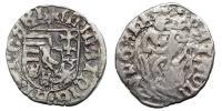 Hunyadi Mátyás 1458-1490 denár RR!