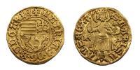 Hunyadi Mátyás 1458-1490 aranyforint