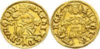 Hunyadi Mátyás 1458-1490 aranyforint RR!