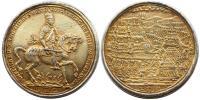 II.Mátyás Esztergom ostroma 1595 érem