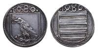 Hunyadi Mátyás 1458-1490 zseton 1489 R!