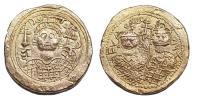 III.Mihály Theodora És Tekla 842-867 solidus barbár veret RRR!