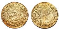 Miksa 1564-1576 aranyforint 1576 KB