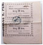 Miskolci szükségpénz 1860