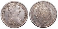 Mária Terézia 1740-1780 tallér 1742 KB