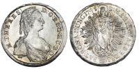 Mária Terézia 1740-1780 tallér 1745 KB