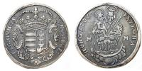 II.Rkczi Ferenc 1703-1711 1/2 tallr 1706 Munkcs R!