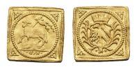 I.Lipót 1657-1705 1/4 dukát Nürnberg