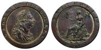 III.György 1760-1820 malomkerék penny 1797