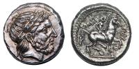 II.Philip ie. 359-336 tetradrachma