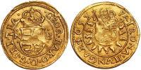 II.Rákóczi György 1648-1660 aranyveretû denár RRR!