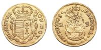 II.Rákóczi Ferenc 1703-1711 dukát 1705 KB