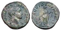 Severus Alexander 227-235 sestertius