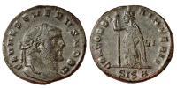 II.Severus 305-306 follis R!