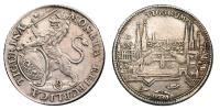 Zürich- városi 1/2 tallér 1736