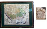 Homann Heredibus: Magyarország térkép 1744