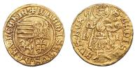 I.Ulászló 1440-1444 aranyforint R!