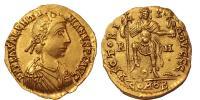 III.Valentinian 425-455 solidus R!