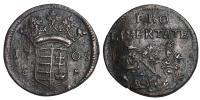 II.Rákóczi Ferenc 1703-1711 X poltura 1705 CM RR!