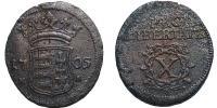 II.Rákóczi Ferenc 1703-1711 X poltura 1705 NB R!