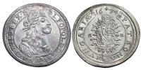I.Lipót 1657-1705 XV krajcár 1674