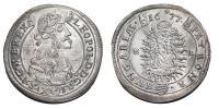 I.Lipót 1657-1705 XV krajcár 1677