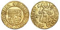 Zsigmond 1387-1437 aranyforint Kassa