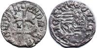 Zsigmond 1387-1437 denár Kassa