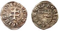 Zsigmond 1387-1437 hibrid denár RRR!